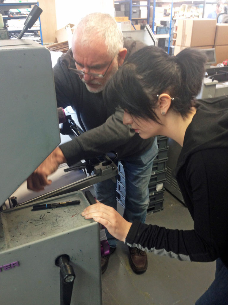 Our Hampshire Press operation includes a range of specialist machines