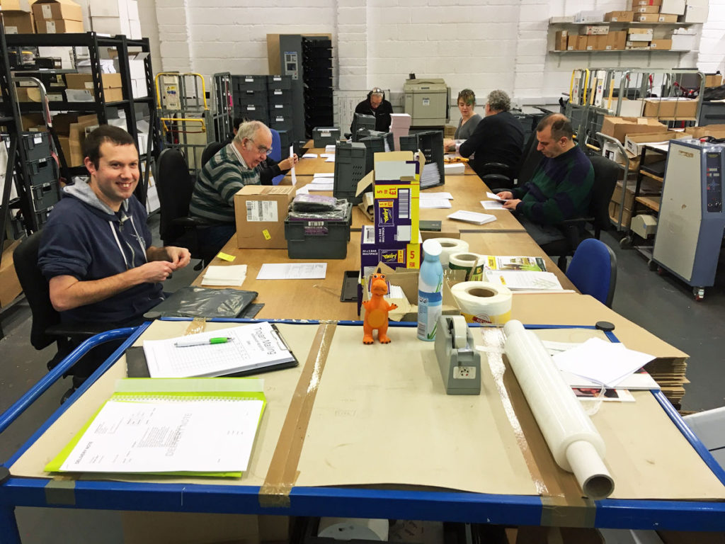 The heart of our production area is clean, efficient and sociable